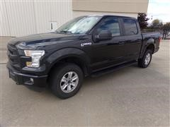 2015 Ford F150XL 4x4 Crew Cab Pickup
