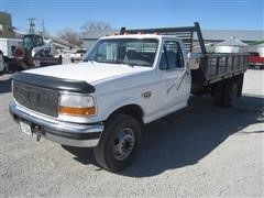 1996 Ford F450 Super Duty Flatbed Pickup