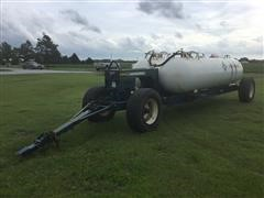 Duo Lift Running Gear W/Dual 1000-Gallon Anhydrous Tanks