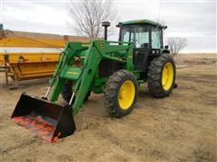 1991 John Deere 2955 MFWD Tractor