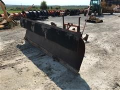 Coates PRB4212 12' Snowplow For Dump Truck w/ Mount