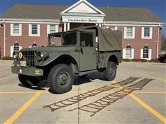 1952 Dodge M37 Military 4x4 Power Wagon