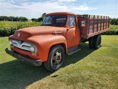 1956 Ford F600 S/A Grain Truck