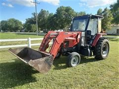 1999 Case CX90 2WD Tractor W/Loader