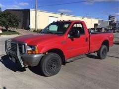 1999 Ford F250 SRW Super Duty 4x4 Pickup
