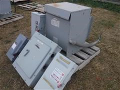Hammond Pwr Solutions ANN Single Phase Dry Transformer w/Panel &Switches
