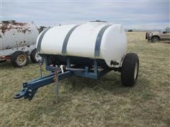 J D Skiles 750 Gallon Fertilizer Tow Between Caddy