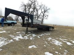 1991 Homemade 25' T/A Flatbed Trailer