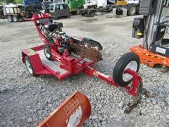 2013 Barreto 912 Trencher With Trailer