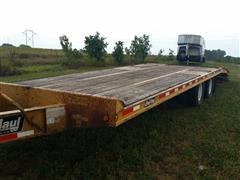 2007 Redi Haul R28212HD Flatbed Trailer