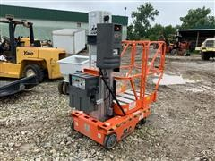 2001 JLG SP12 Push-Around Vertical Manlift