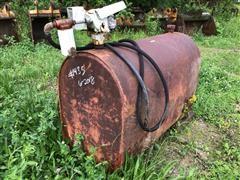 275-Gallon Steel Fuel Tank W/Pump, Meter & Nozzle