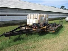 Homemade Sprayer Trailer