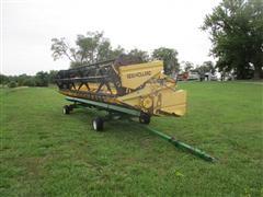 New Holland 973 Header & Cart