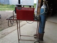 Century 117 052 003 130 Mig Wire Feed Portable Welder