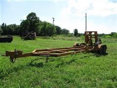 1995 Tensas Turnport T/A Equipment Trailer