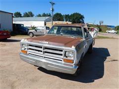 1989 Dodge Ram 350 Dually Pickup