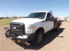 2013 Ford F350 4x4 Service Pickup W/Side Winch