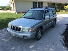 2002 Subaru Forester S Sport Utility Vehicle