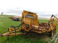Haybuster Plus Round Bale Processor