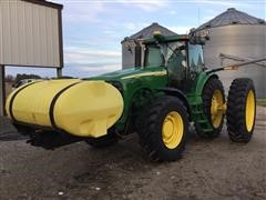 2005 John Deere 8120 MFWD Tractor W/Tank And Guidance