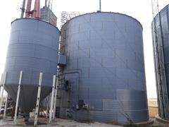 """Butler 50118 Grain Bin W/10 """" Unload"""