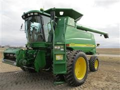 2000 John Deere 9650 Conventional Combine W/Green Star & Auto Track Steering