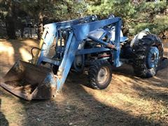 1955 Ford 850 Tractor With Ford Loader And Ford 3pt Scraper