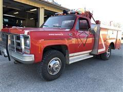 1977 GMC C35 Sierra 4WD Fire Truck
