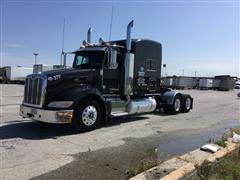 2009 Peterbilt 386 T/A Truck Tractor