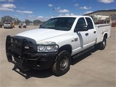 2009 Dodge 2500 Heavy Duty 4x4 Quad Cab Service Truck