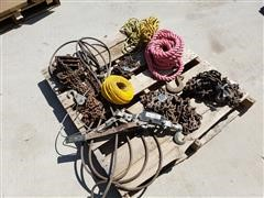 1/2 Ton Chain Hoist, Chains & Pulling Cable