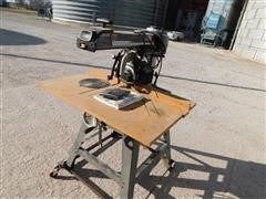 """Craftsman 215220380 10"""" Radial Arm Saw"""