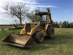 1996 John Deere 310D 4x4 Loader Backhoe