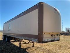 1977 Great Dane 191T T/A Dry Van Storage Trailer