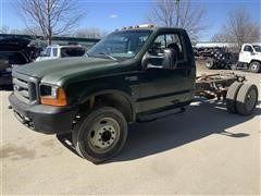 1999 Ford F450 Super Duty Cab & Chassis