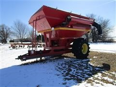 2002 Sunflower 8781 PTO Drive Grain Cart W/Hydraulic Drive Included
