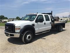 2008 Ford F-550 XL Super Duty Flatbed Pickup