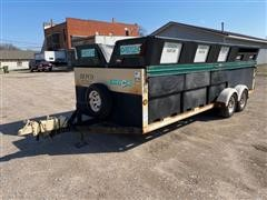 2002 Dempster T/A Recycle Trailer