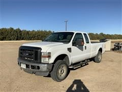 2008 Ford F250 XL Super Duty 4x4 Extended Cab Pickup