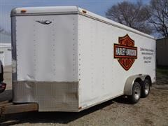 2000 Nation T/A Enclosed Trailer