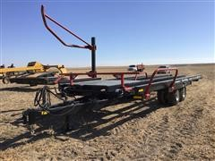2016 Farm King 2400 T/A Round Bale Carrier