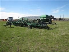 1996 John Deere 1850 Air Seeder w/John Deere 787 Air Cart