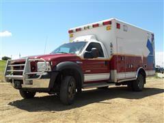 2006 Ford F450 4x4 Ambulance