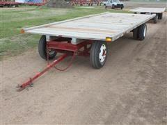 Shop Built 8' X 20' Heavy Duty Hay Wagon