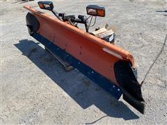 Western Pickup Mounted Steel Snow Plow