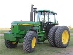 1990 John Deere 4755 MFWD Tractor