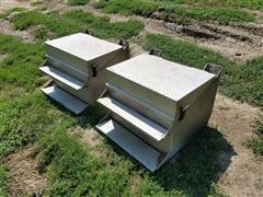 Aluminum Step Boxes