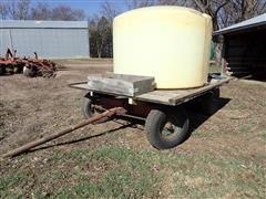 """Farmhand Running Gear W/1350-Gal Tank On 8'X12"""" Flatbed W/3HP Pump"""