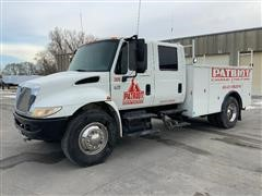 2005 International 4300 SBA 4x2 Quad-Cab Service Truck